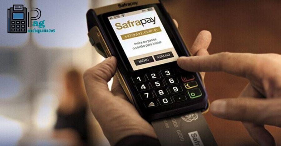 Safrapay Máquina e cartão sem Aluguel